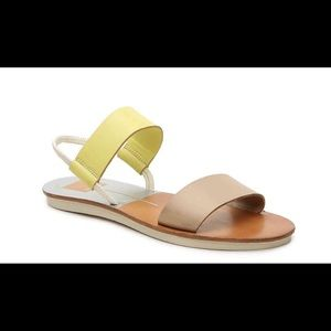 ❗️Dolce Vita Neily Yellow/tan sandals❗️